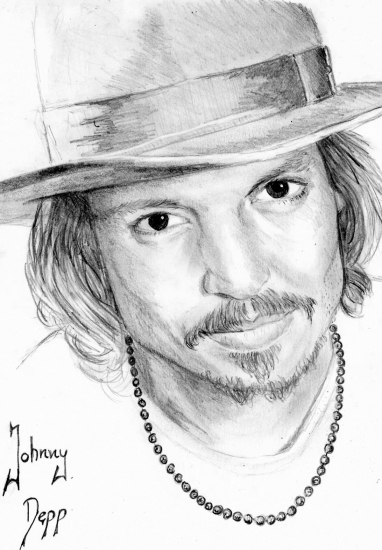 Johnny Depp by Anette